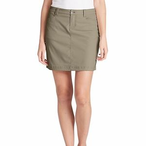 Eddie Bauer Khaki Skort with Pockets